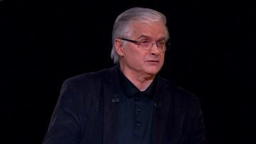 """11-12-2017 20:34 """"Kaczyński i Duda chcą, by obowiązywała konstytucja ich autorstwa"""". Włodzimierz Cimoszewicz w programie """"Tło"""""""