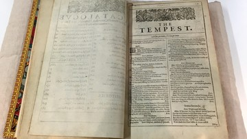 07-04-2016 18:07 Egzemplarz najstarszego wydania dramatów Szekspira odnaleziony w zamku na Wyspie Węży