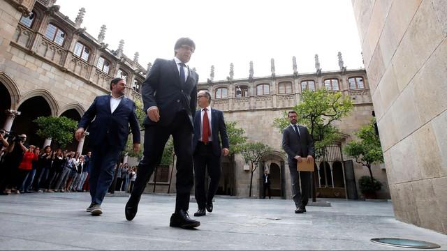 Premier Katalonii apeluje o międzynarodowe mediacje