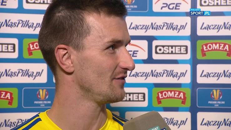 Bożok: Wierzyliśmy, że jesteśmy w stanie zdobyć Puchar Polski