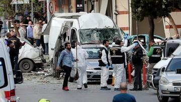 06-10-2016 17:27 Wybuch niedaleko komisariatu w Stambule. Są ranni