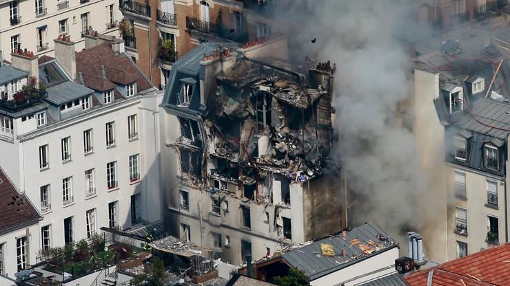 Wybuch gazu w centrum Paryża