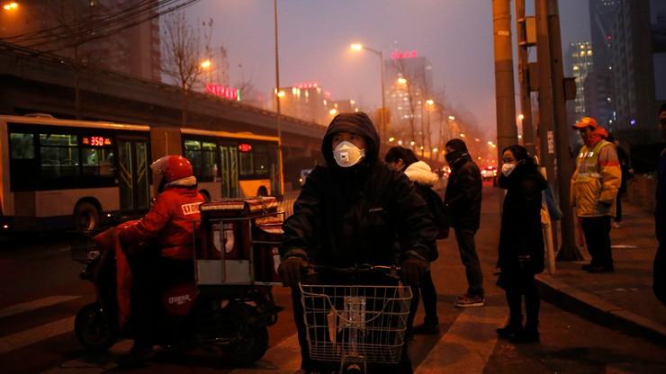 Czerwony alert smogowy w Pekinie