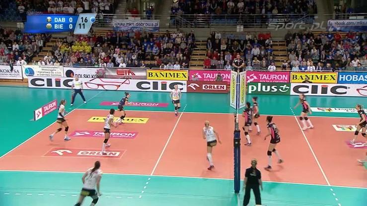 Tauron Dąbrowa Górnicza - Aluprof Bielsko-Biała 3:2. Skrót meczu