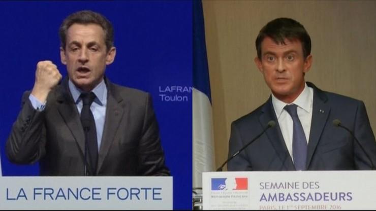 Spięcie Sarkozy'ego z Vallsem ws. walki z terroryzmem
