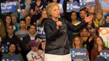 11-05-2016 19:39 Sondaż: poparcie dla Clinton i Trumpa niemal równe