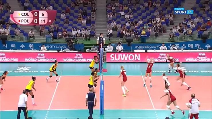 2017-07-21 Kolumbia - Polska 0:3. Skrót meczu