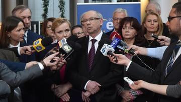 """13-04-2016 14:53 """"PiS dąży do wyprowadzenia Polski z Unii"""". Opozycja komentuje publikację rezolucji Europarlamentu"""