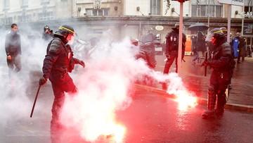 """31-03-2016 14:19 """"Ręce precz od kodeksu"""". Starcia we Francji podczas demonstracji przeciwko nowelizacji prawa pracy"""