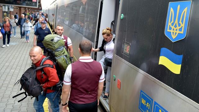 Do Polski dotarł pierwszy bezwizowy pociąg z Ukrainy