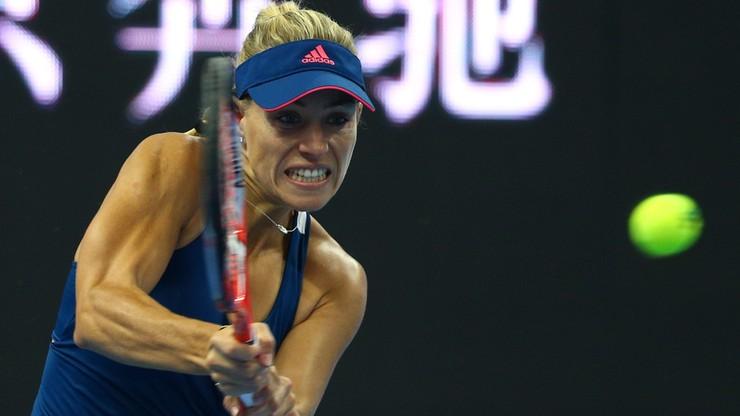 Kerber odpadła w ćwierćfinale w Hongkongu