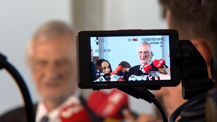 """Przyspieszenie prac nad zmianą organizacji pracy dziennikarzy po bójce w Sejmie. """"To dla nas ważna lekcja"""""""