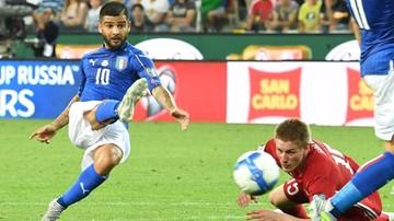 2017-06-12 Cyrkowy gol Insigne! Efektowny wolej włoskiej gwiazdy