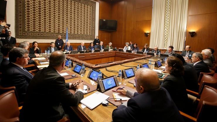 Genewa: rozmowy pokojowe ws. Syrii