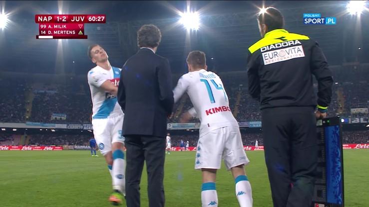 Zmienił Milika i strzelił po pierwszym kontakcie z piłką! Kuriozalny gol Mertensa