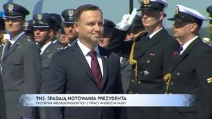 Spadają notowania Andrzeja Dudy. Coraz więcej niezadowolonych z prezydentury