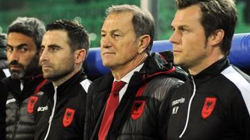 2017-06-13 El. MŚ 2018: Trener Albanii De Biasi nie przedłuży kontraktu