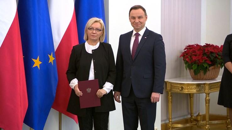 """Sąd Apelacyjny pyta o """"umocowanie"""" sędzi Przyłębskiej jako prezesa TK"""