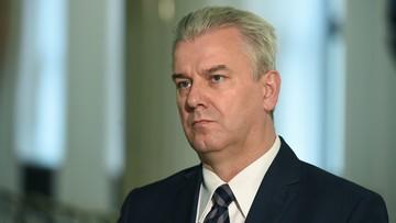 Do Sejmu trafił wniosek prokuratury o uchylenie immunitetu b. ministrowi sprawiedliwości Cezaremu Grabarczykowi