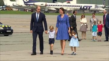 Para książęca Cambridge odleciała z Warszawy do Berlina