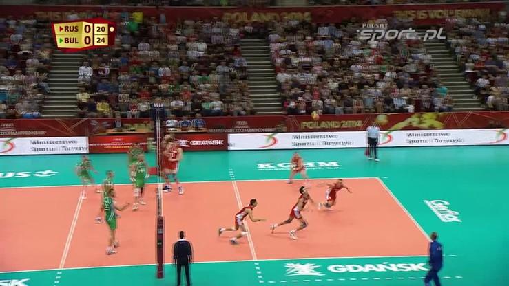 Rosja - Bułgaria 3:2. Skrót meczu