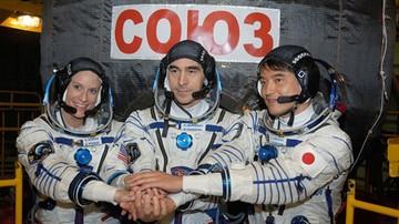 09-07-2016 08:13 Astronauci cali i zdrowi dotarli do stacji kosmicznej