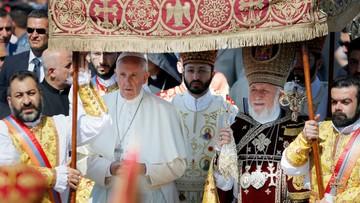 26-06-2016 16:18 Papież w Armenii. Razem z Karekinem II sprzeciwia się szerzeniu nienawiści i przemocy