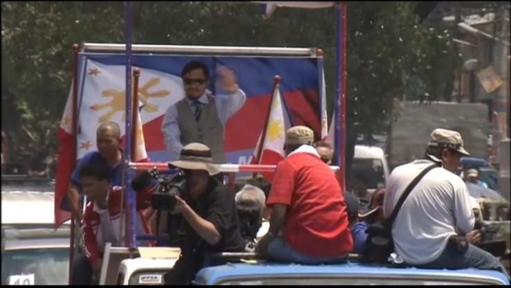 Pacquiao chce zostać senatorem