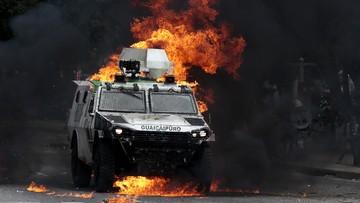 31-07-2017 07:19 Milionowe rozbieżności w liczbie głosujących w Wenezueli. Zginęło 10 protestujących