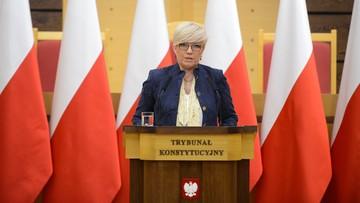 """11-12-2017 16:22 """"Prezes Rzepliński przyznał sobie kompetencję nieznaną konstytucji"""". Przyłębska na Zgromadzeniu Ogólnym TK"""