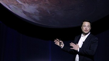 """28-09-2016 06:01 Elon Musk przedstawił plan kolonizacji Marsa. """"Ochotnicy muszą liczyć się z utratą życia"""""""