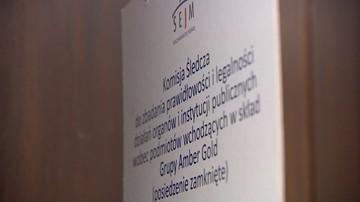 16-11-2016 14:36 Komisja śledcza ds. Amber Gold. W czwartek kolejne przesłuchania