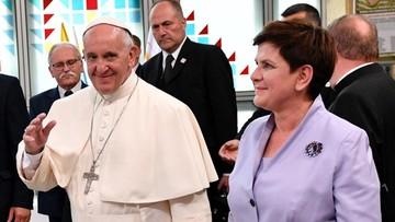Szydło: papież mówiąc o przyjmowaniu uchodźców daje wybór drogi