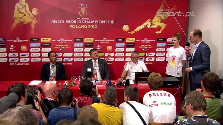 Losowanie III fazy siatkarskiego mundialu: Polska w grupie z Rosją i Brazylią