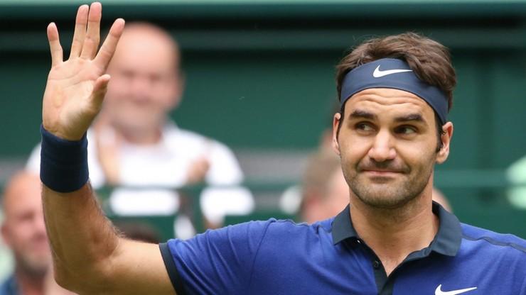 Czternasty ćwierćfinał Federera w Halle