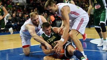 2017-11-26 El. MŚ koszykarzy: Wysoka porażka Polaków z rezerwową Litwą