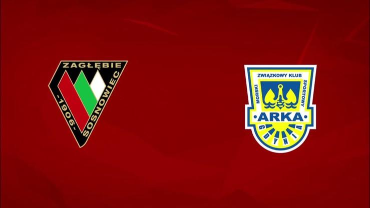 2015-08-24 Zagłębie Sosnowiec - Arka Gdynia 4:2. Skrót meczu