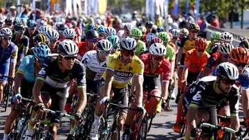 2017-07-31 Tour de Pologne: Kolarze wjeżdżają w góry