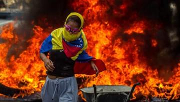 25-04-2017 06:12 Wenezuela: brutalne starcia z policją. Trzy osoby nie żyją