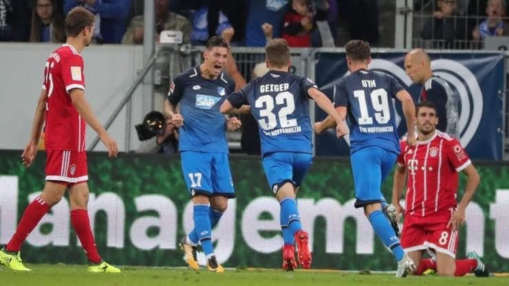 Bundesliga: Pierwsza porażka Bayernu Monachium. Lewandowski w cieniu Utha