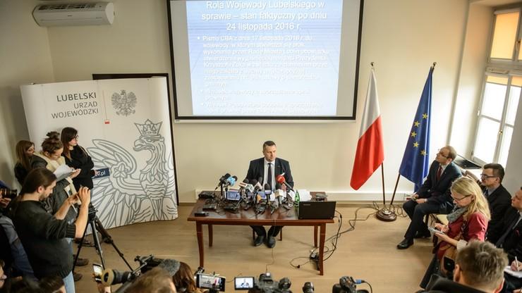 Wojewoda wydał zarządzenie o wygaśnięciu mandatu prezydenta Lublina