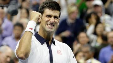 2015-09-07 US Open: Djokovic w ćwierćfinale, ale w końcu stracił seta