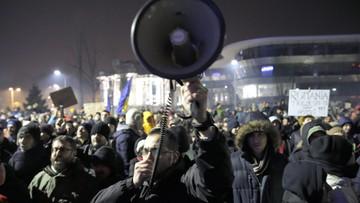 Kraje zachodnie krytykują Rumunię za częściową depenalizację korupcji