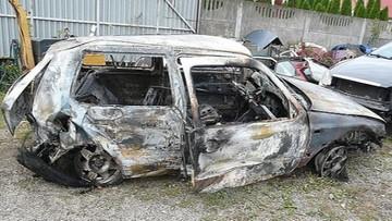 20-09-2016 11:29 Po wypadku zostawili koleżankę w rowie i podpalili auto. 19-latka zmarła