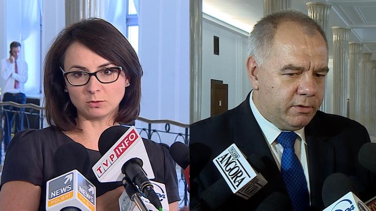 Gasiuk-Pihowicz: skierowanie opinii KE do Sejmu nic nie da. Sasin: kompetencje rozwiązania sporu ma parlament