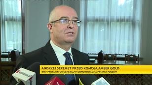 Seremet przed komisją Amber-Gold: zmienił zdanie odnośnie pisma z KNF