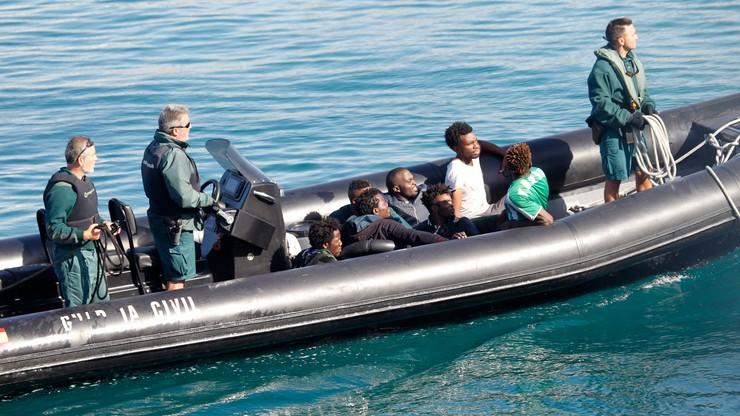 Liczba migrantów przybywających do Hiszpanii wzrosła dwukrotnie