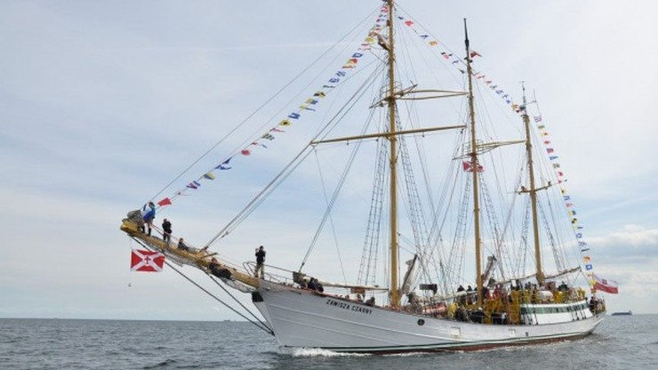 Polska reprezentacja na otwarciu regat The Tall Ships Races w Halmstad