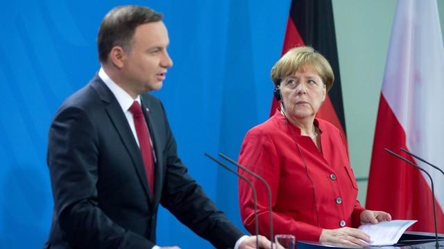 Duda: polsko-niemieckie partnerstwo jednym z fundamentów UE