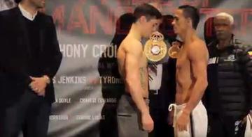 2015-11-21 Crolla i Perez w limicie przed walką o pas WBA